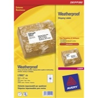 Avery Waterproof Shipping Labels 99.1 x 57mm Packed 25 Ref L7992-25