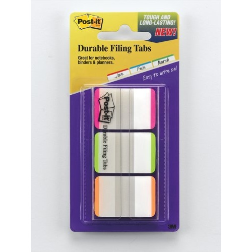 Post-it Index 1in Strong Green Blue Red Ref 686L-GBR Each