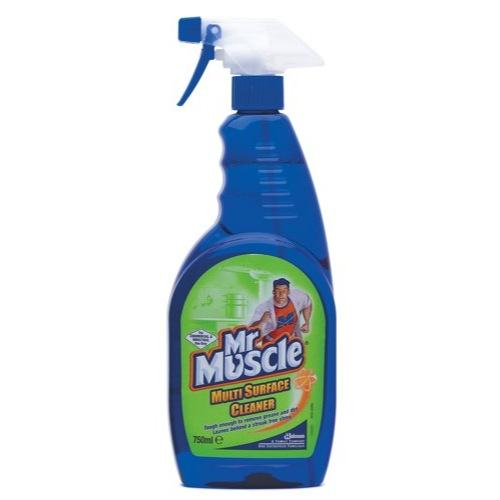 Mr Muscle Multi Surface Cleaner Spary 750ml (Pack of 1) Ref 670614