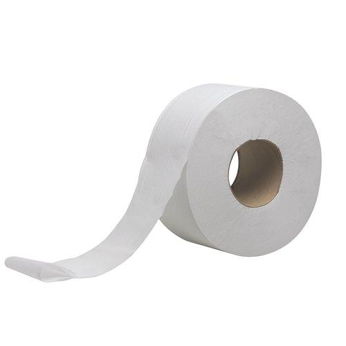 Scott White 2 Ply Mini Jumbo Toilet Tissue Roll Pack of 12