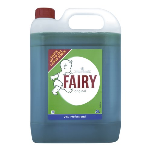 Fairy Original Washing Up Liquid 5 Litre (Pack of 1) Ref 5413149033511