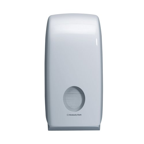 Aquarius Folded Toilet Tissue Dispenser White Ref 6946