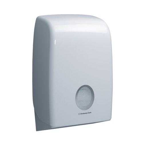 Aquarius White Interleaved Folded Hand Towel Dispenser REF 6945