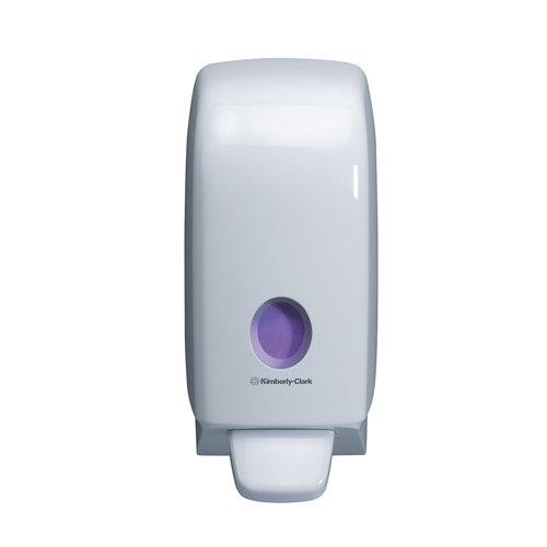 Aquarius White Hand Hygiene Cleanser Dispenser REF 6983