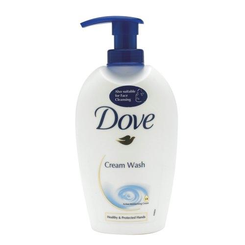 Dove Cream Hand Soap 250ml (Pack of 1) Ref KMSDOVE1
