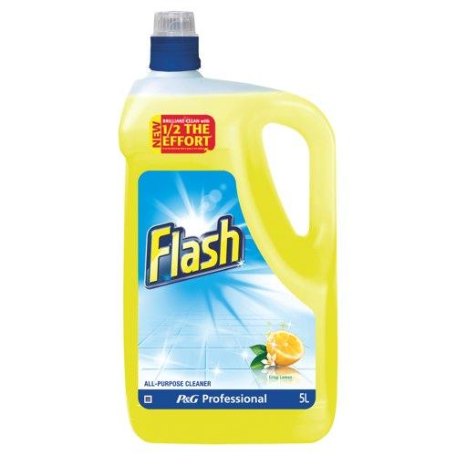Flash All Purpose Cleaner Lemon Fragrance 5 Litre (Pack of 1) Ref 5413149200111