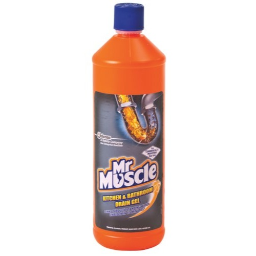 Mr Muscle 1L Kitchen and Bathroom Drain Gel