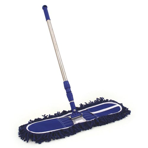 Dustbeater with Telescopic Handle and Frame 600mm/24 Blue Ref O2O/DB6/SET