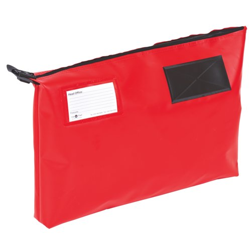 Go Secure Mail Pouch Red 470x336x76mm