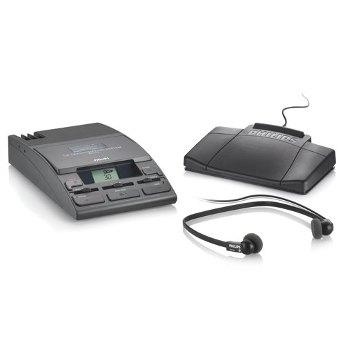 Philips Transcription Kit Machine 155 Power Supply 234 Headset and 210 Foot Control LFH0720/25 Each