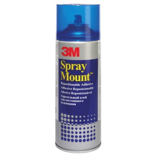3M SprayMount 400ml Adhesive Spray