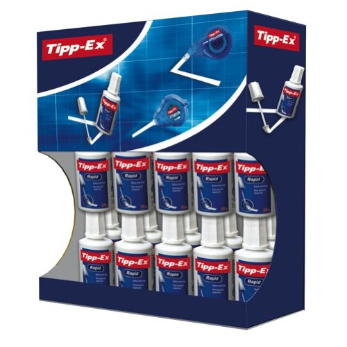 Tipp-Ex Rapid Correction Fluid 20ml Value Pack 15 + 5 Free 895950 Box 20