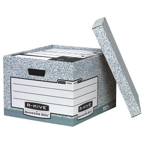 Fellowes R-Kive System Large Storage Box 380x430x287mm Ref 01810-FF
