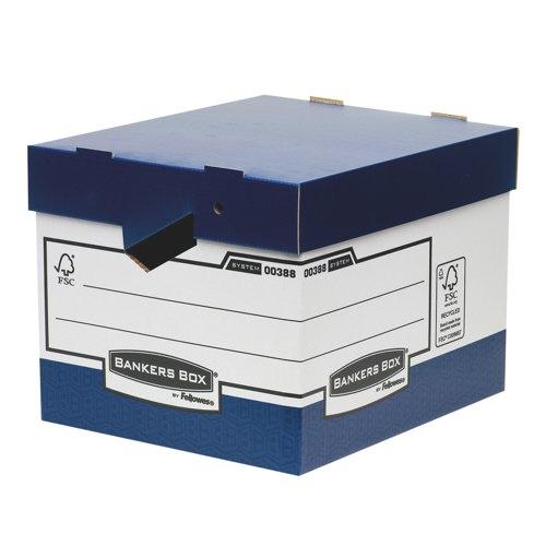 Bankers Box Presto Heavy Duty Ergo Box Packed 10 Ref 38801