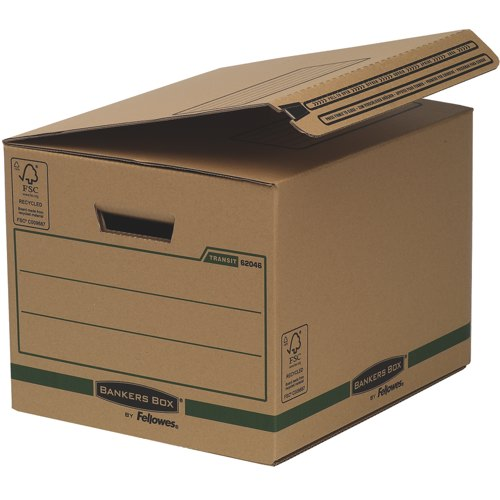 Bankers Box SmoothMove Transit Secure Ship and Store Boxes Packed 10 Ref CRC62046