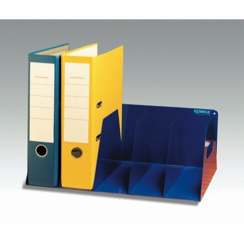 Rotadex Lever Arch Filing Rack Portable Rigid Metal 425x300x160mm Blue Ref LAR5BLUE Each