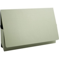 Guildhall Probate Wallets Recycled Manilla 315gsm 75mm Foolscap Green Code PRW2-GRN