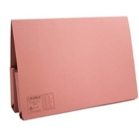 Guildhall Legal Wallet Double Pocket Foolscap 315gsm Manilla Pink Code 214-PNK