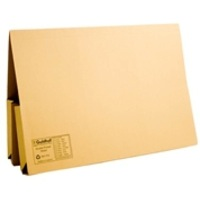 Guildhall Legal Wallet Double Pocket Foolscap 315gsm Manilla Yellow Code 214-YLW