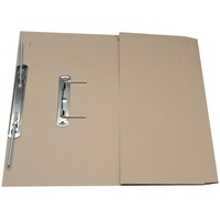 Guildhall Transfer Spring Files With Pocket Foolscap 38mm Capacity 315gsm Manilla Buff Code 349-BUFZ