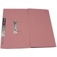 Guildhall Transfer Spring Files With Pocket Foolscap 38mm Capacity 315gsm Manilla Pink Code 349-PNKZ