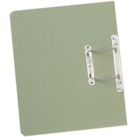 Guildhall Transfer Spring Files Foolscap 38mm Capacity 315gsm Manilla Green Code 348-GRNZ