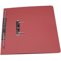 Guildhall Transfer Spring Files Foolscap 38mm Capacity 315gsm Manilla Red Code 348-REDZ