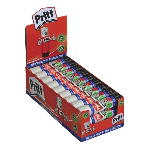 Pritt Stick Glue Solid Washable Non-Toxic Standard 11gm Ref 1564149