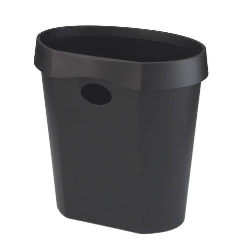Avery DTR Eco Range Waste Bin 18 Litre Black Ref DR500BLK