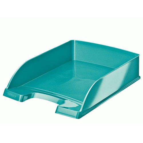 Leitz WOW Letter Tray A4 Ice Blue Ref 52263051