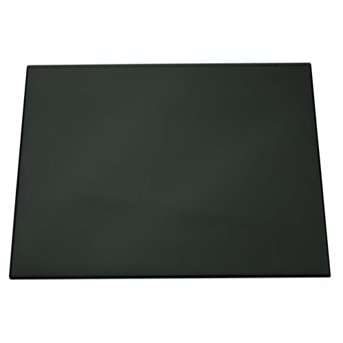 Durable Desk Mat With Transparent Overlay 650x520mm Black Ref 7203/01 Each