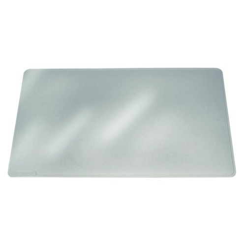 Durable Duraglas Desk Mat Transparent Anti-Glare 650x500mm Ref 7113/19 Each
