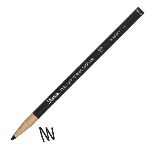 Sharpie China Wax Marker Pencil Black Ref S0305071