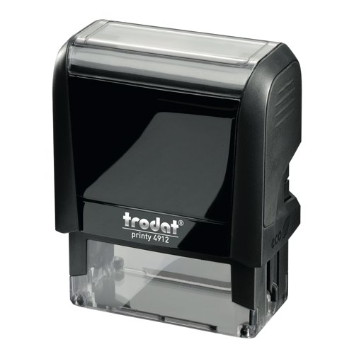 Trodat Printy P3 4912 Self Inking Custom Stamp 46x18mm With Die Ref 34049 Each