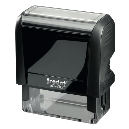 Trodat Printy P3 4913 Self Inking Custom Stamp 56x22mm With Die Ref 34180 Each
