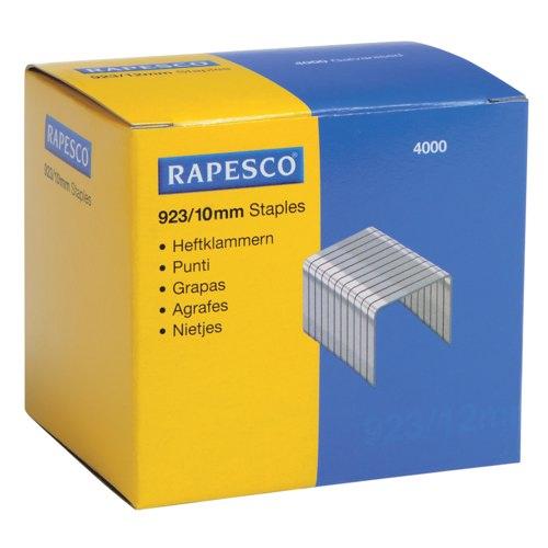 Rapesco Heavy Duty Staples 923/10mm Box 4000 Ref S92310Z3