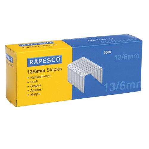 Rapesco Tacker Staples 13/6mm Ref S13060Z3
