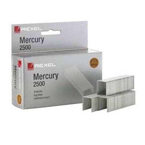 Rexel Mercury Heavy Duty Staples Box 2500 Code 2100928