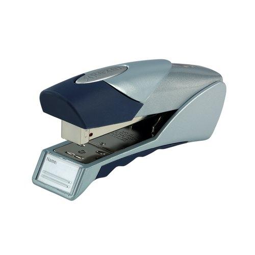 Rexel Gazelle Stapler Silver/Blue 2100011 Each