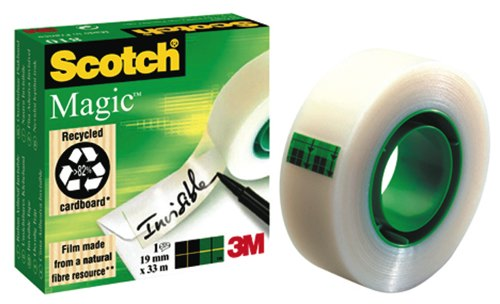 3M Scotch Magic Tape 810 19x33m Ref 8101933 Each