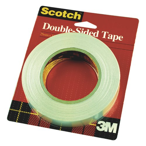 3M Scotch Double Sided Tape 12mmx33m Ref DS1233