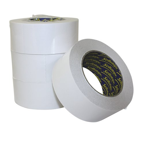 Sellotape Double Sided Easy Peel Tape 50mm x 33m Ref 1447054