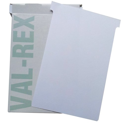 Eurocharts T-Card Size 4 White Pack 100 Ref 1054013