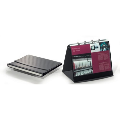 Durable Durastar Presentation Portfolio Graphite A3 Ref 8569/37 Each