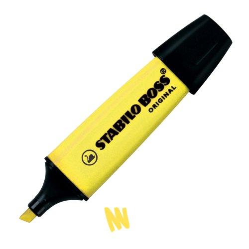Stabilo Boss Highlighters Yellow Ref 70/24