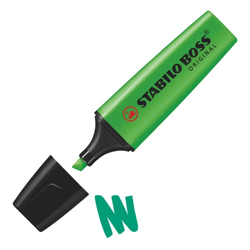 Stabilo Boss Highlighters Green Ref 70/33