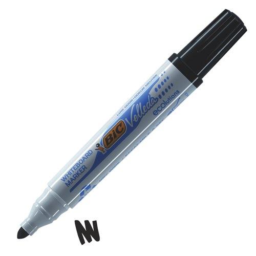 Bic Velleda 1701 Whiteboard Drywipe Marker Bullet Tip Black Ref 1199170109