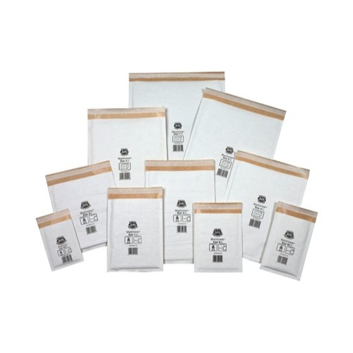 Jiffy Mailmiser Protective Envelopes No.000 Bubble-Lined 90x145mm White JMM-WH-000 Box 150