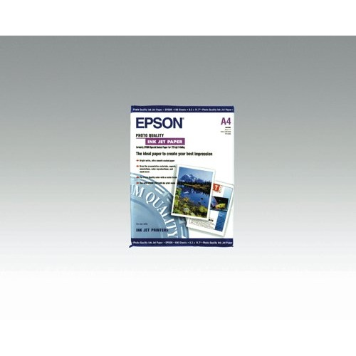 Epson White Photo Quality 102gsm A4 Inkjet Paper (Pack of 100 Sheets) REF C13S041061