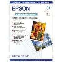 Epson Paper Archival Matte A4 Pack 50 Ref C13S041342